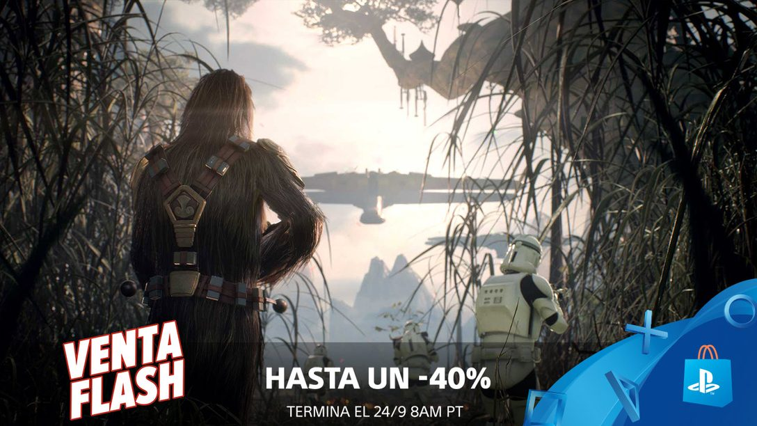 ¡Venta Flash! Ahorren Hasta 40% en PS Store Este Fin de Semana