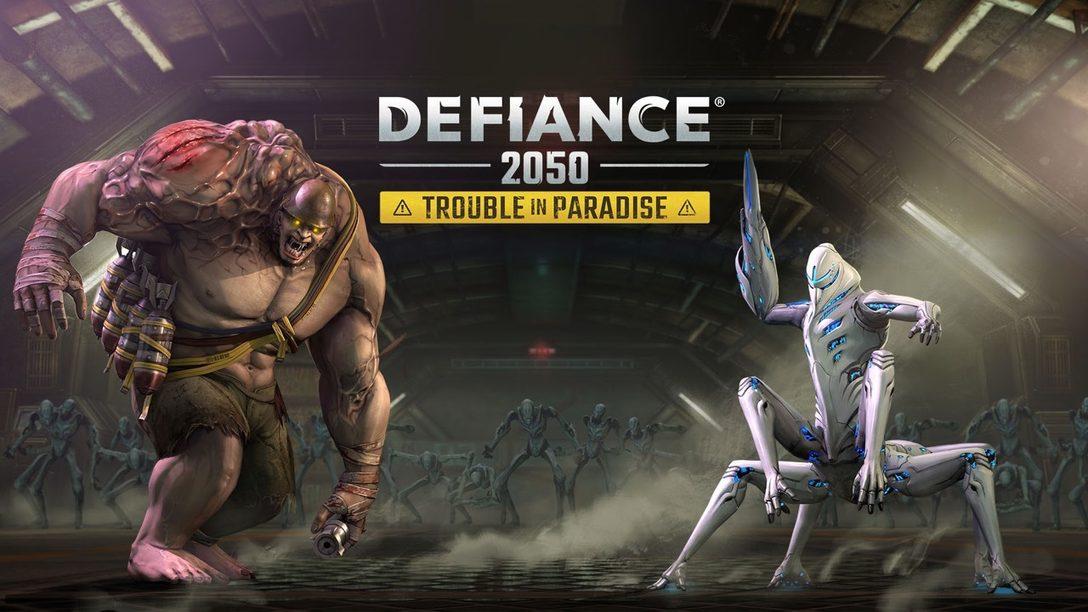 """Defiance 2050 Recibe hoy la Gran Actualización """"Trouble in Paradise"""""""
