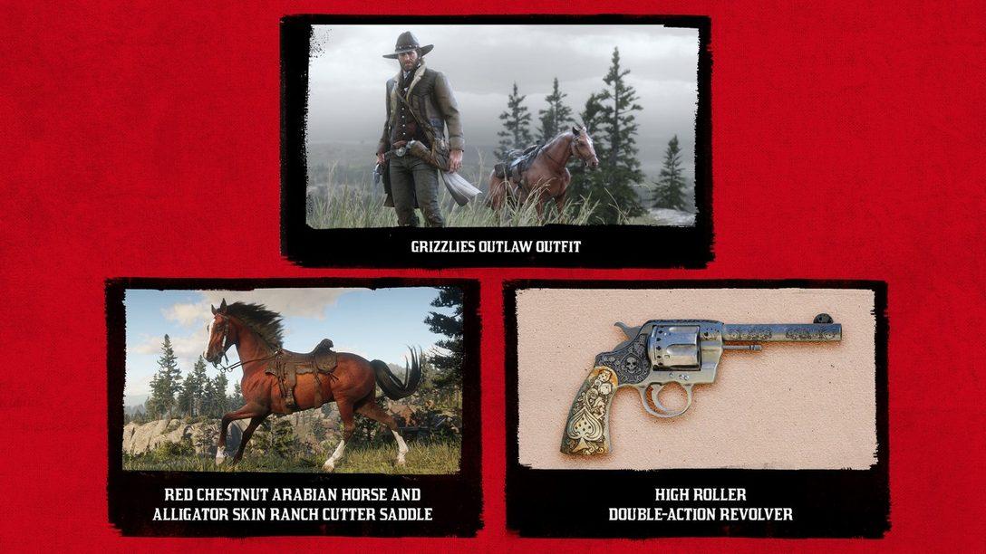 Este es el Contenido de Acceso Anticipado de Red Dead Redemption 2 para PS4