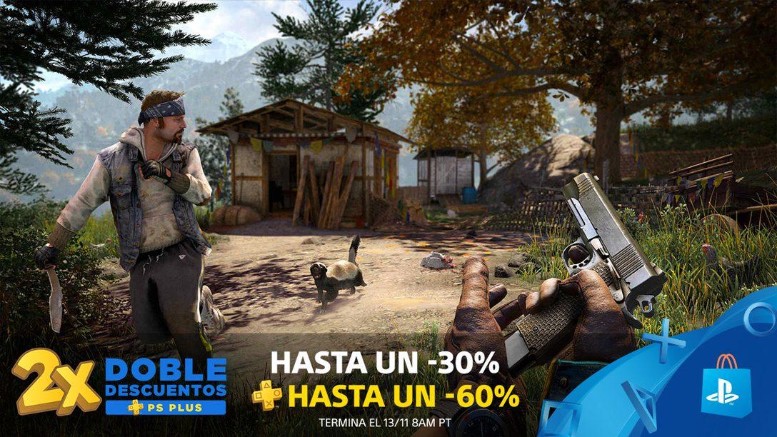 La Promoción Doble Descuentos PS Plus Empieza Ya en PlayStation Store