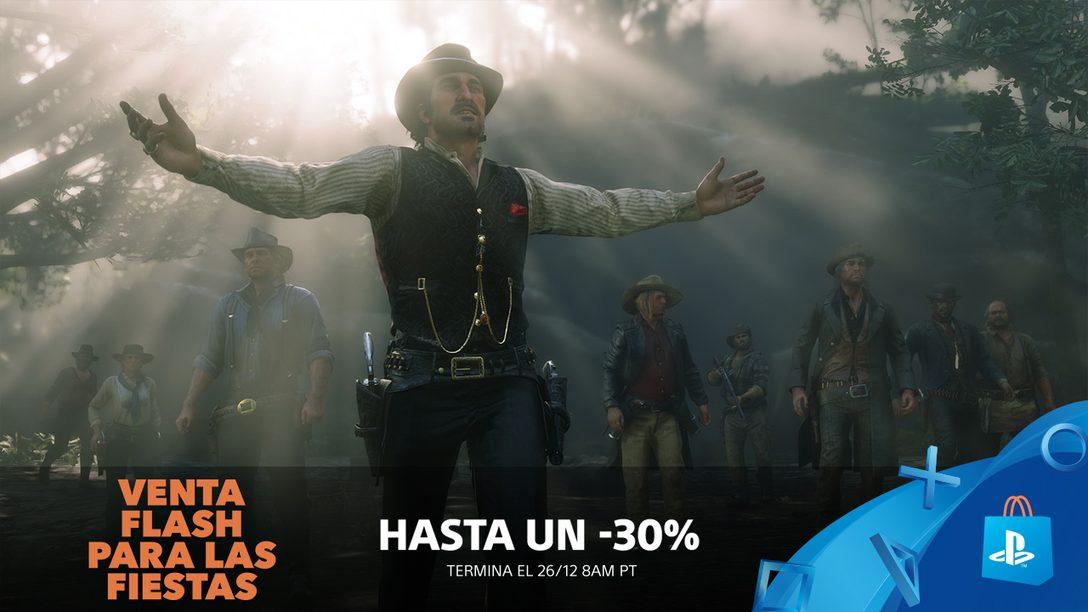 ¡Venta Flash! Hasta 30% en Grandes Juegos de PlayStation Store