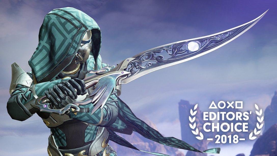 Editor's Choice: Por Qué Destiny 2: Forsaken es uno de los Mejores Juegos de 2018