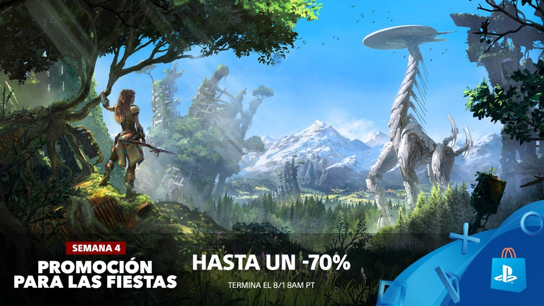 Promoción para las Fiestas! Ahorren Hasta 70% en Más de 500 Juegos