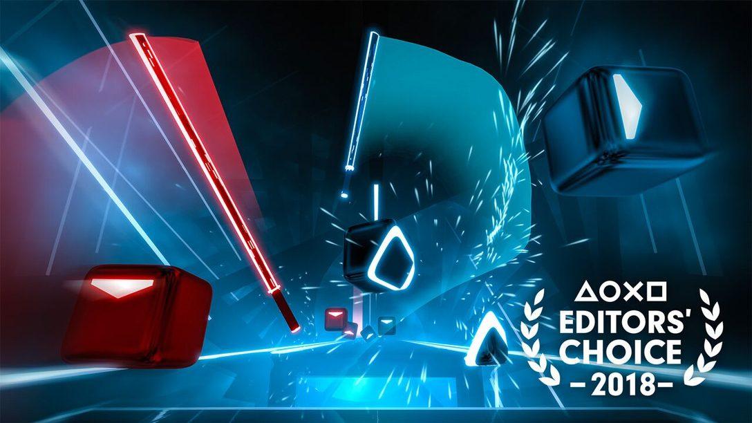 Elección del Editor: Por qué Beat Saber es uno de los Mejores Juegos de 2018