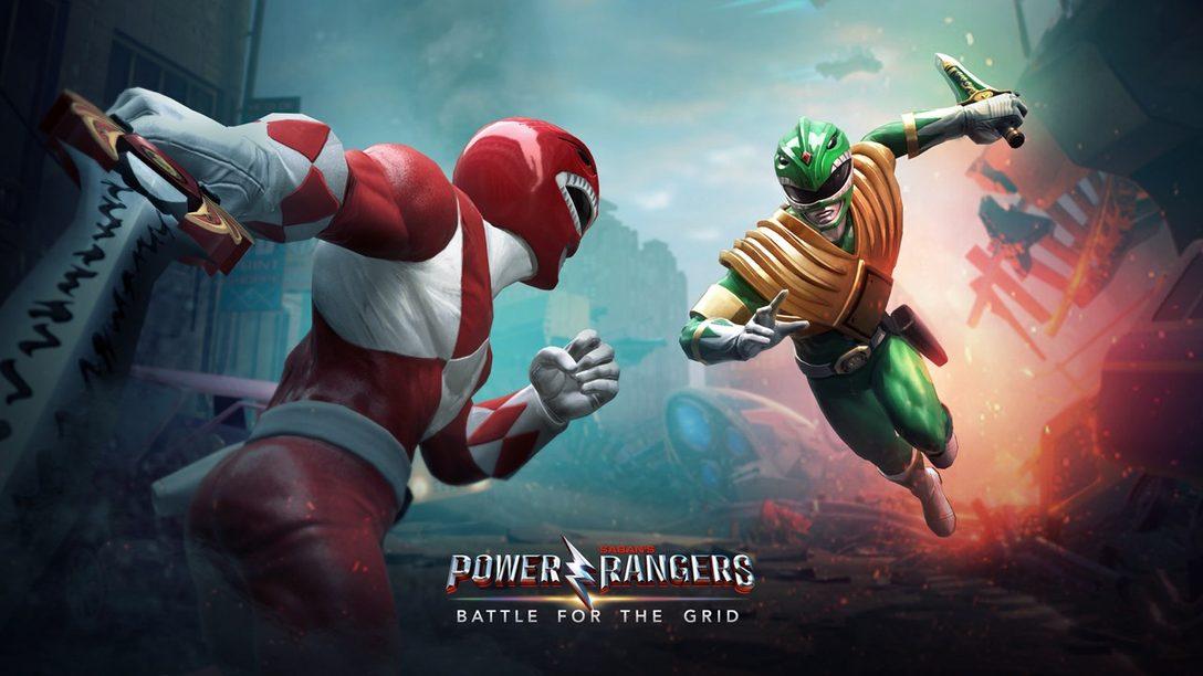 Una Poderosa Entrevista de Power Rangers: Battle for the Grid