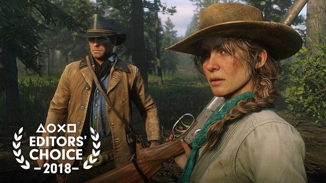 Editor's Choice: Por qué Red Dead Redemption 2 es uno de los Mejores Juegos de 2018