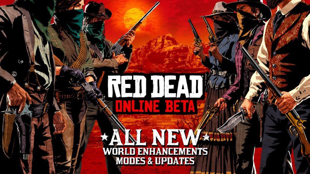 Actualización de Red Dead Online Beta, Reciban Contenido Seleccionado primero en PS4
