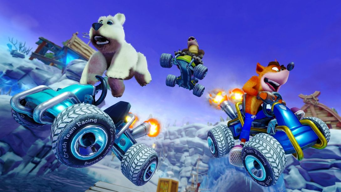 Detrás del Timón en Crash Team Racing: Nitro-Fueled