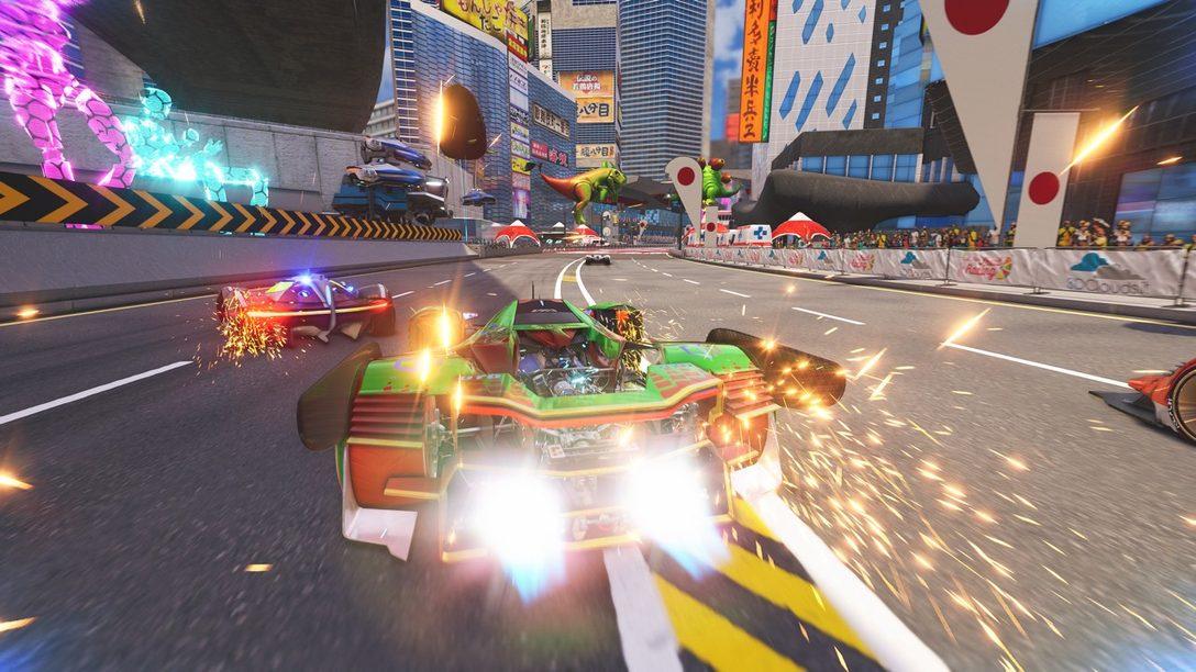 Xenon Racer, el Juego Influenciado por los Arcades, Llegará a PS4 el 26 de Marzo