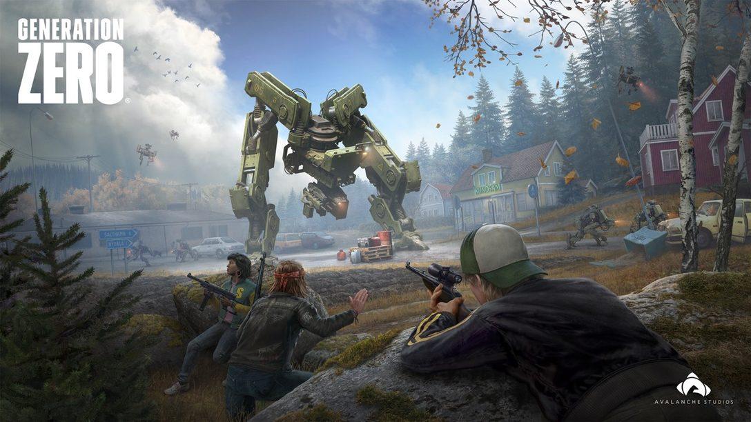 Los Orígenes de Generation Zero de Avalanche, Espérenlo el Martes en PS4