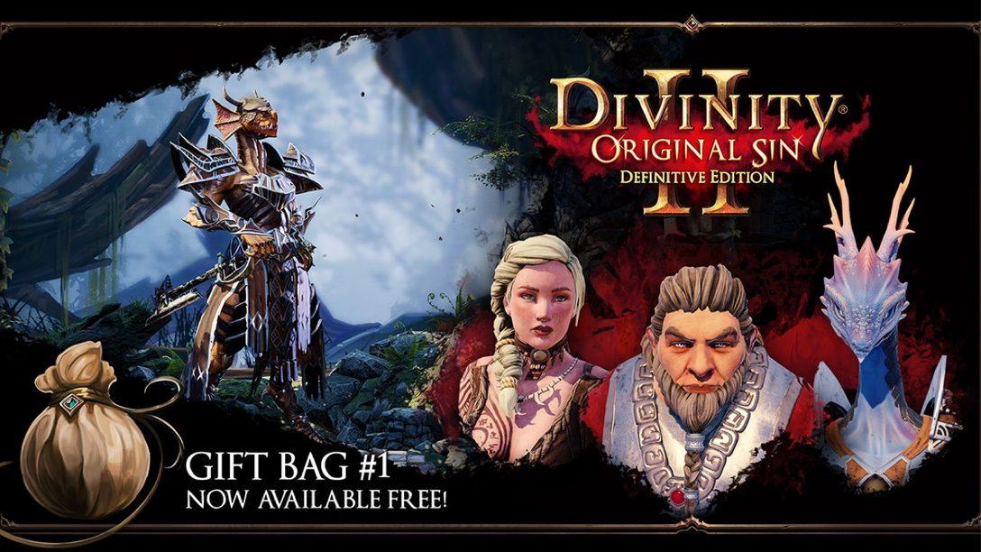 Divinity: Original Sin 2 Agrega Bolsas de Regalos desde Hoy