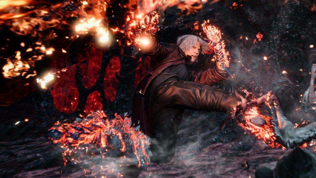 El Viejo Dante y Nuevos Trucos: Capcom Habla de Devil May Cry 5, Ya Disponible en PS4