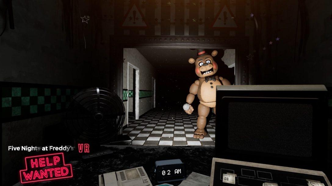 Primeras y Terroríficas Impresiones de Five Nights At Freddy's VR: Helped Wanted