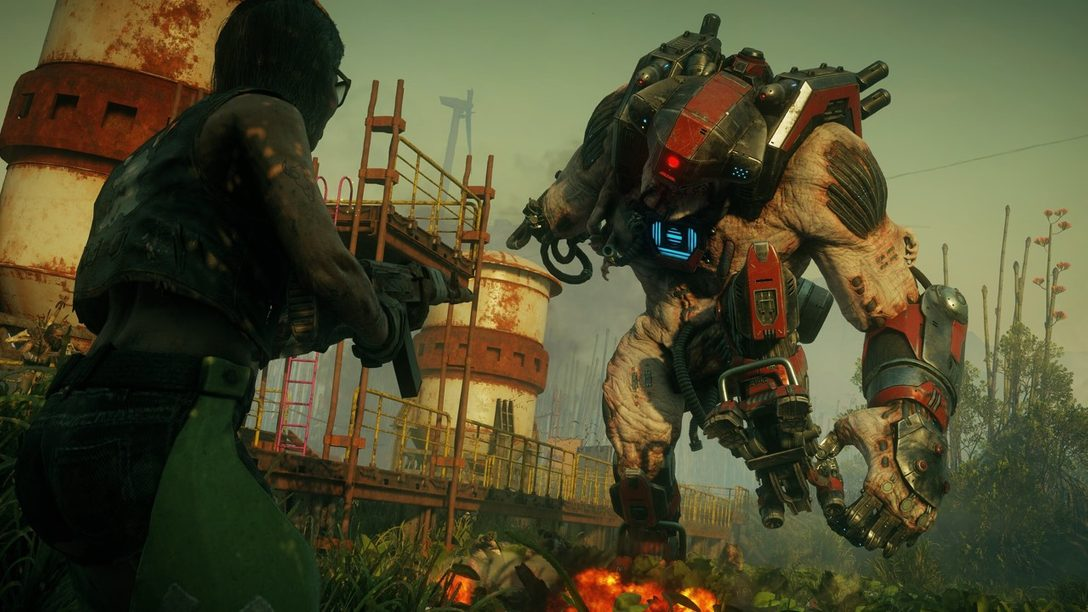 Combinen Armas y Superpoderes para Crear Impresionantes Combos en Rage 2