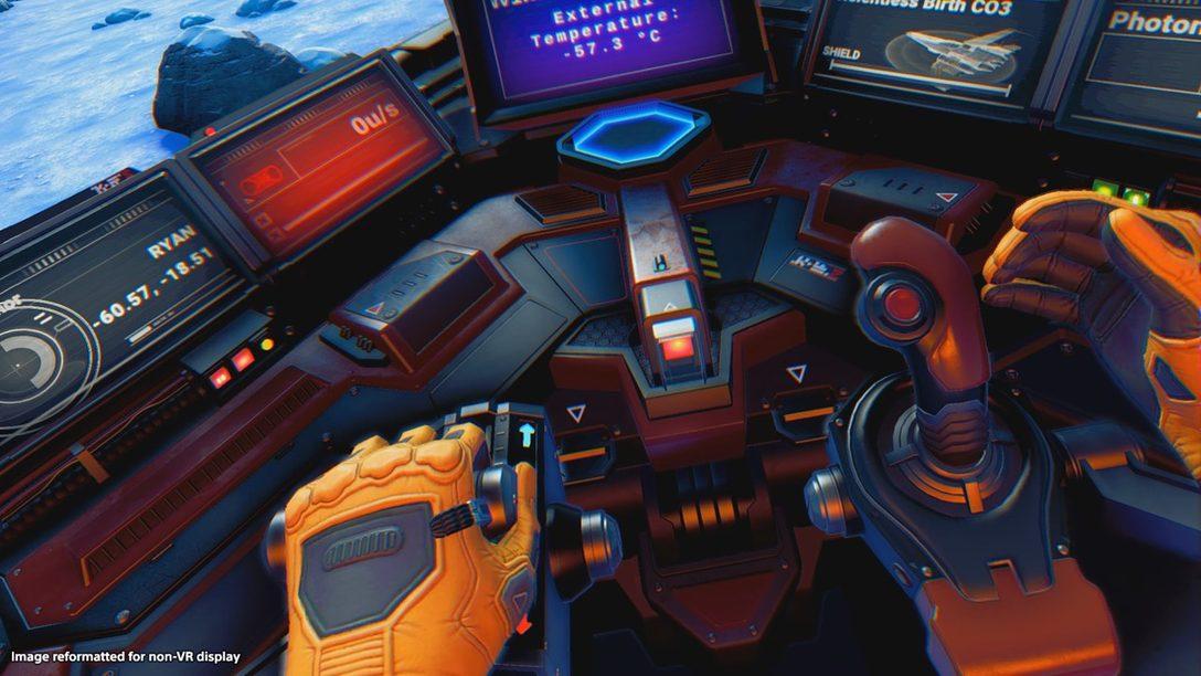 Así es como Funciona No Man's Sky en PlayStation VR