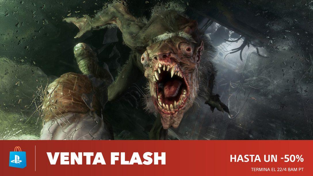 Venta Flash: Trae Descuentos de Hasta 50% en PS Store