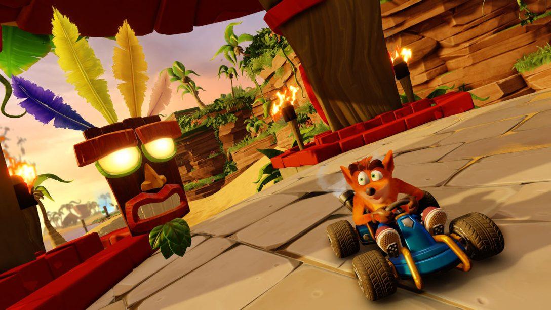 Este es el Primer Vistazo a Fondo del Modo Aventura de Crash Team Racing: Nitro-Fueled