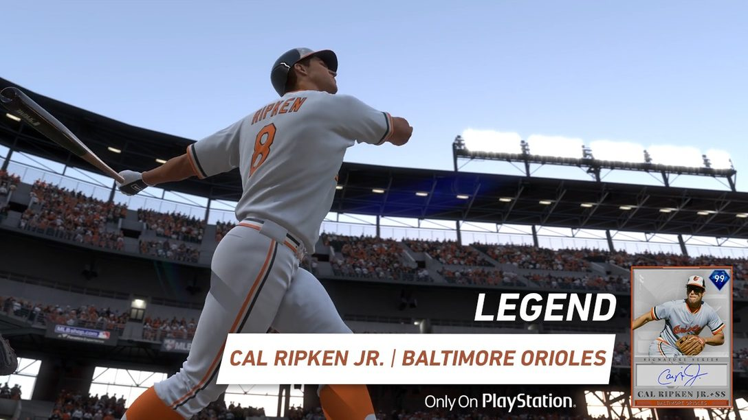 MLB The Show 19 Agrega La Leyenda Cal Ripken Jr. Como un Diamond Boss