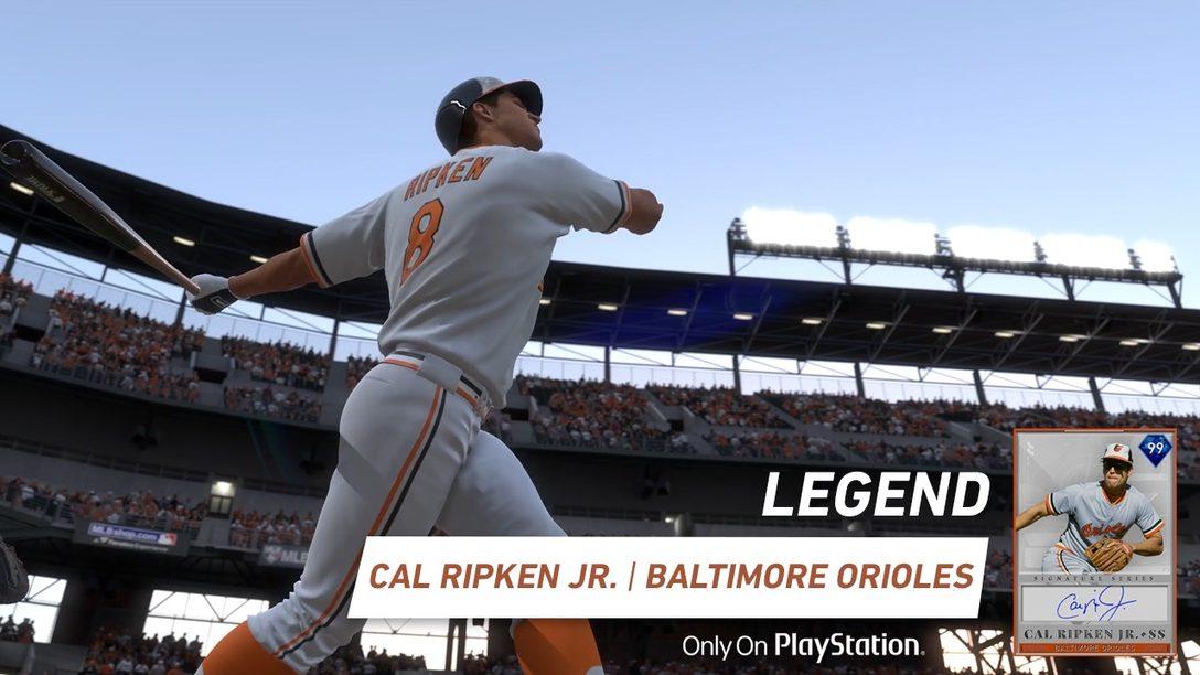 MLB The Show 19 Agrega La Leyenda Cal Ripken Jr. Como un Diamond Boss