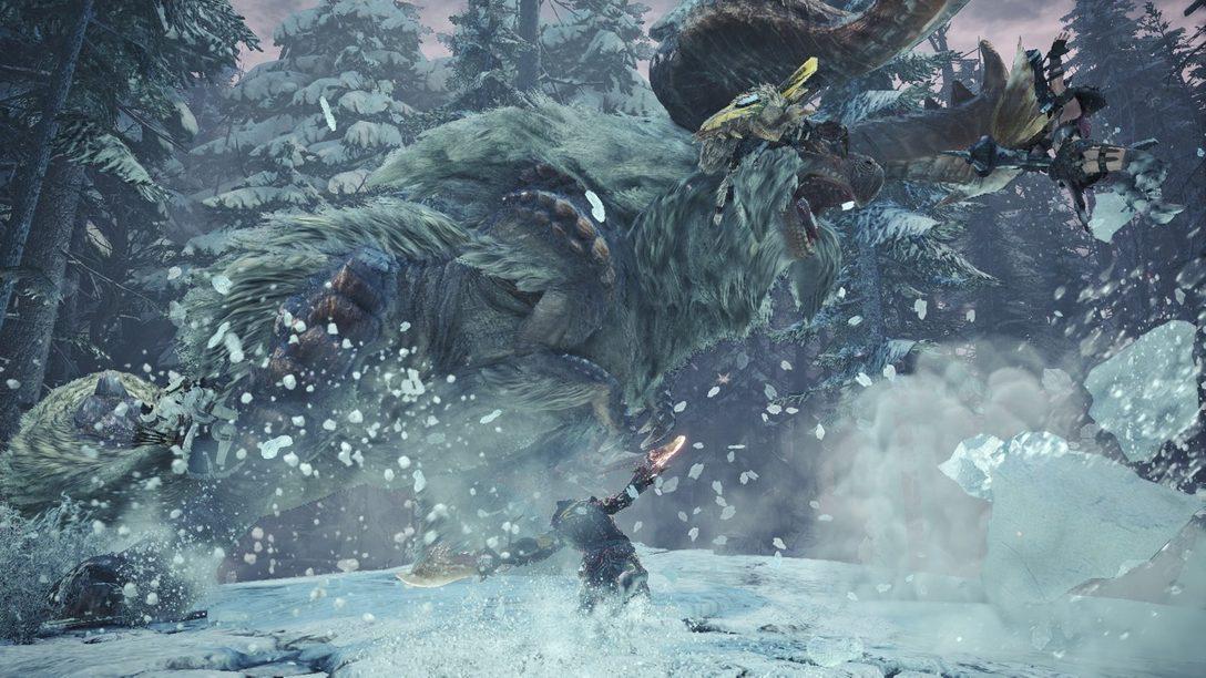 8 Cosas Geniales Que Pueden Hacer en la Beta de Monster Hunter World: Iceborne para PS4