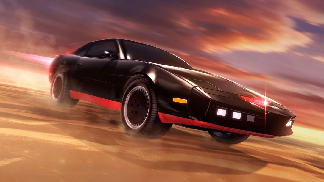 Conociendo a K.I.T.T. de Knight Rider en Rocket League