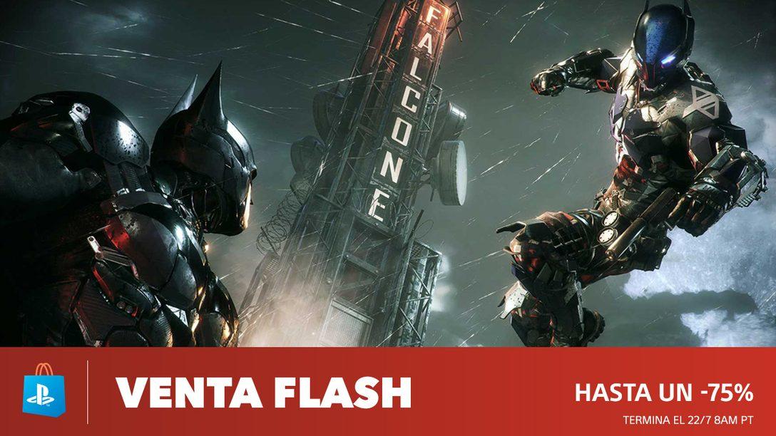 ¡Venta Flash! Descuentos de Hasta 75% en PS Store