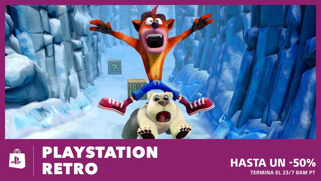 La Promoción PlayStation Retro de PS Store ya Inició