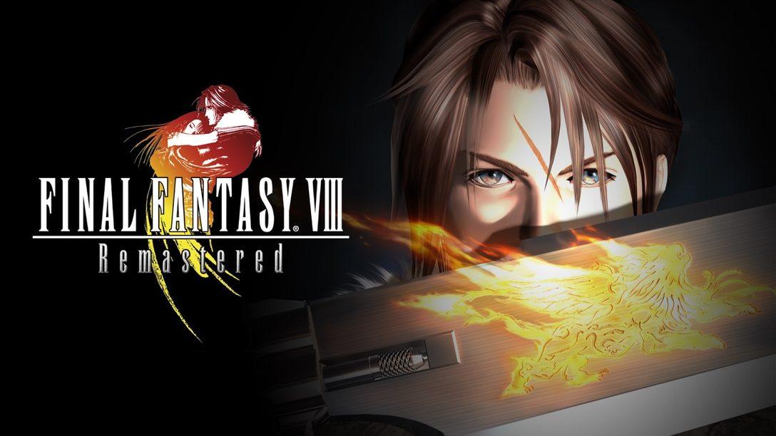 Final Fantasy VIII Remastered se Lanzará el 3 de septiembre en PS4