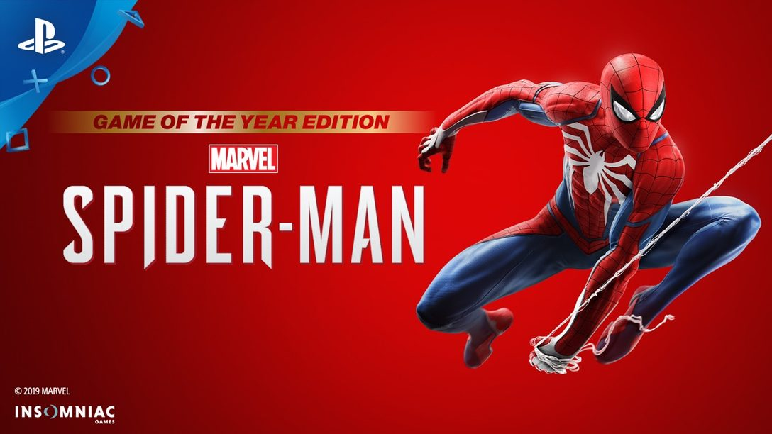Marvel's Spider-Man: Game of the Year Edition ya Está Disponible