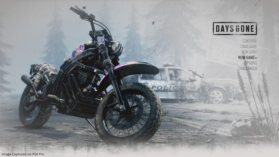 El Modo New Game Plus de Days Gone Estará Disponible el 13 de septiembre