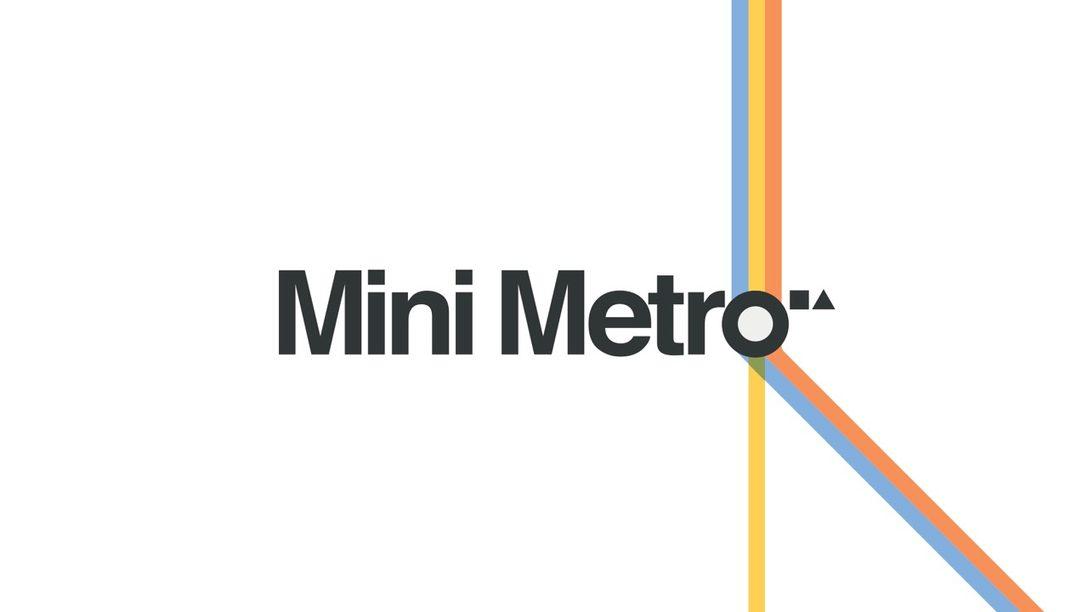 El Sublime Simulador de Metro, Mini Metro, Llegará a PS4 el 10 de septiembre