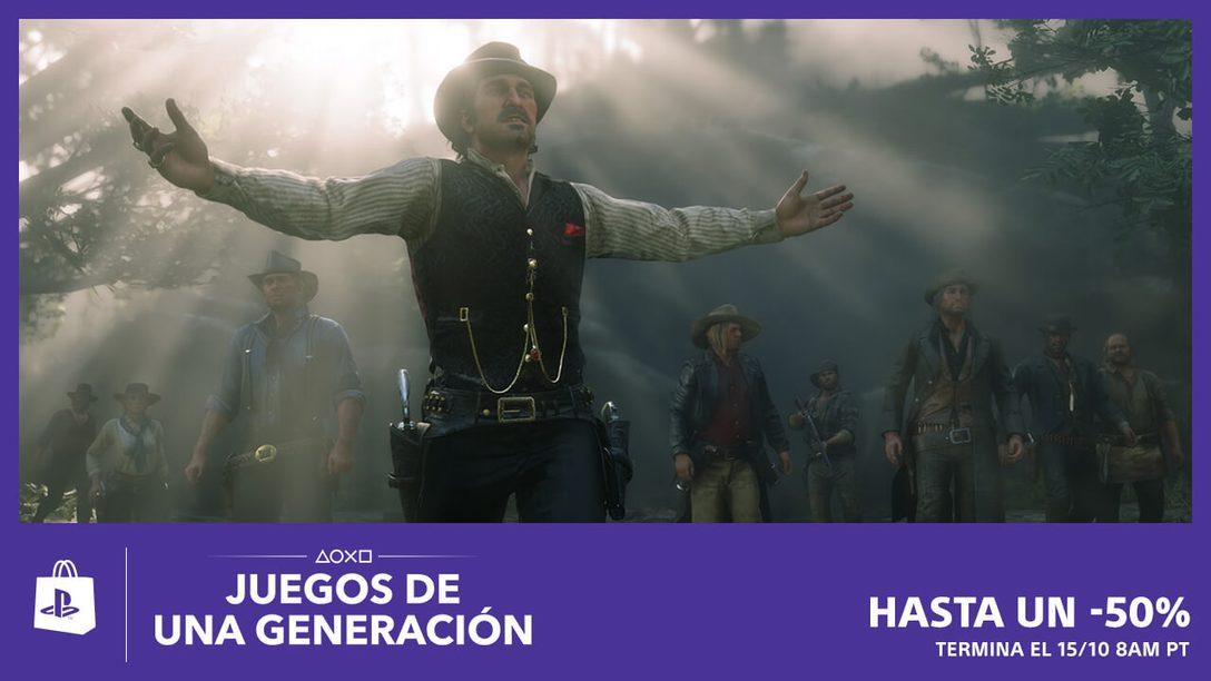 La Venta Juegos de una Generación Llegará Mañana a PlayStation Store