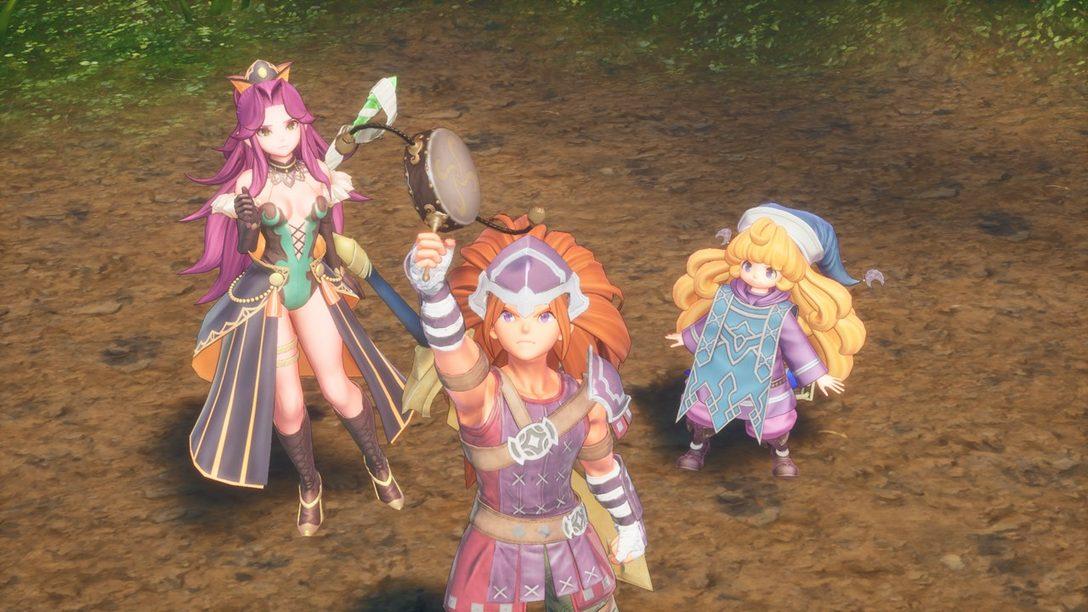 Mejorando las Clases de Trials of Mana con Nuevos Diseños