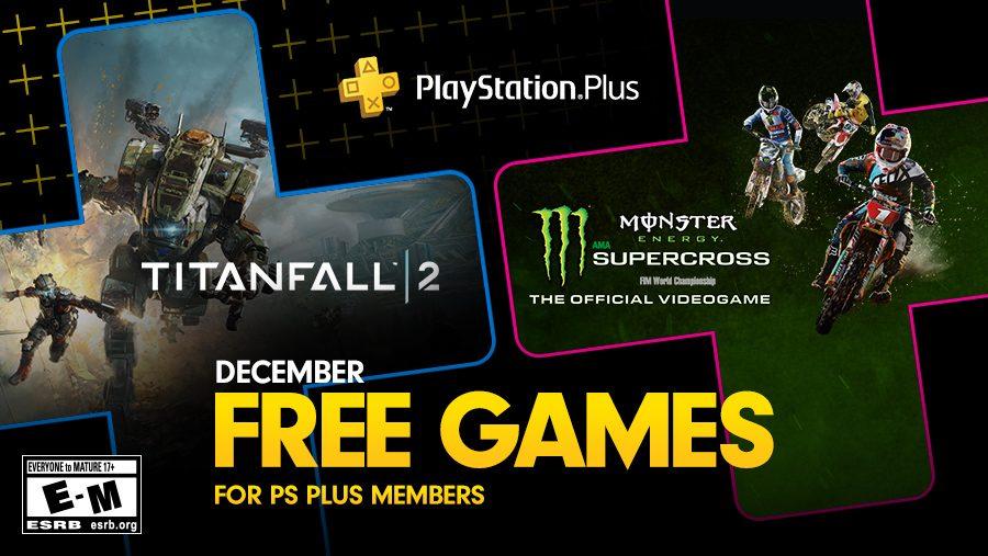 Juegos Gratuitos de PS Plus para Diciembre: Titanfall 2 y Monster Energy Supercross — The Official Videogame