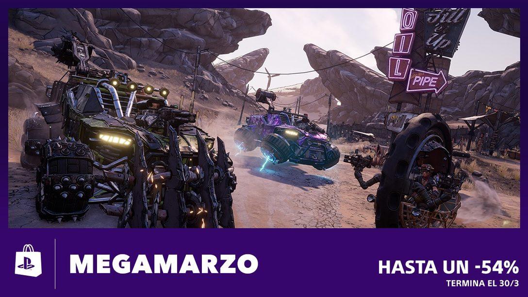 La Promoción Megamarzo llega a PS Store