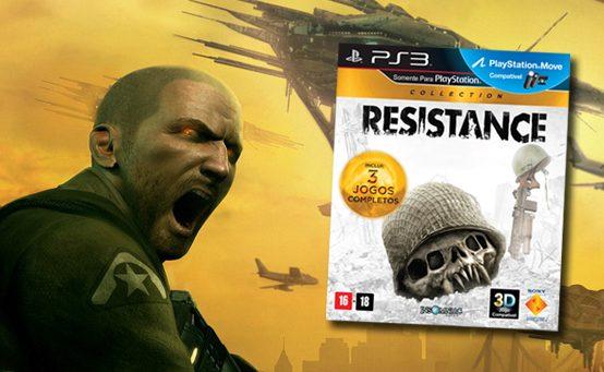 Resistance Collection Chega Dia 12 de Dezembro ao Brasil