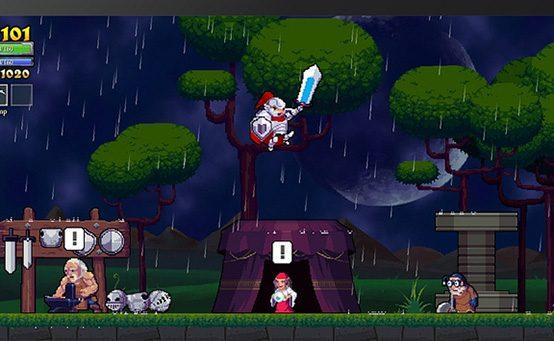 Gamescom 2013: Rogue Legacy Anunciado para PS Vita, PS3 e PS4