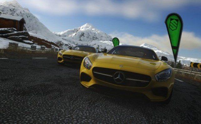 Nova Mercedes-AMG GT lançada exclusivamente no DRIVECLUB