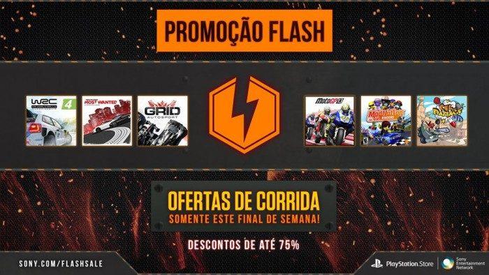 Flash Sale: Mais de 25 jogos de corrida em oferta agora
