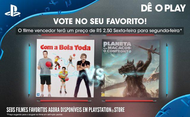 Vote No Seu Favorito: Com a Bola Toda vs. Planeta dos Macacos: O Confronto