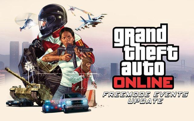 Atualização do GTA Online Freemode Events Update Disponível Agora para PS4