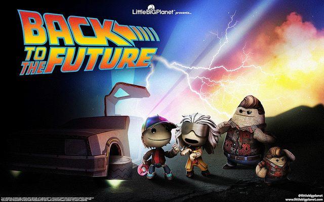 LittleBigPlanet 3: Back to the Future Chega Hoje!