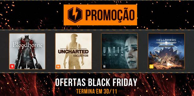 Descontos de Black Friday exclusivos para o Brasil