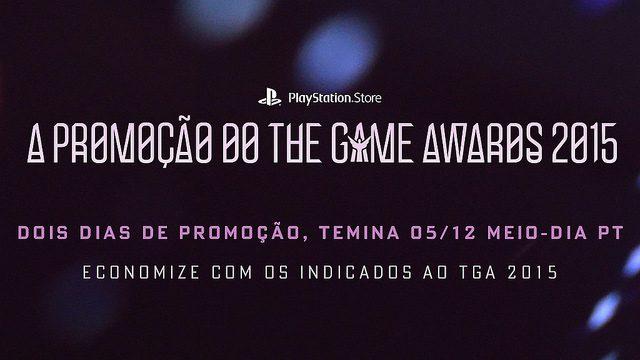 Promoção TGA: Descontos de até 60% em Jogos Indicados