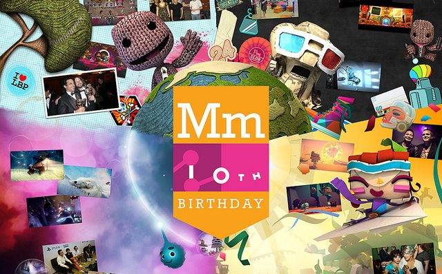 Feliz Aniversário de 10 Anos, Media Molecule!