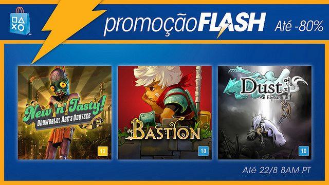 Promoção Flash: Até 80% de Desconto em Jogos de Outro Mundo