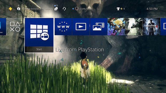 Detalhes dos Recursos da Atualização 4.50 do Software de Sistema do PS4