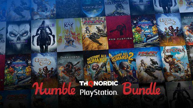 Humble Bundle THQ Nordic Traz Pacote de Jogos com Preço Reduzido; Parte da Receita Vai para Caridade