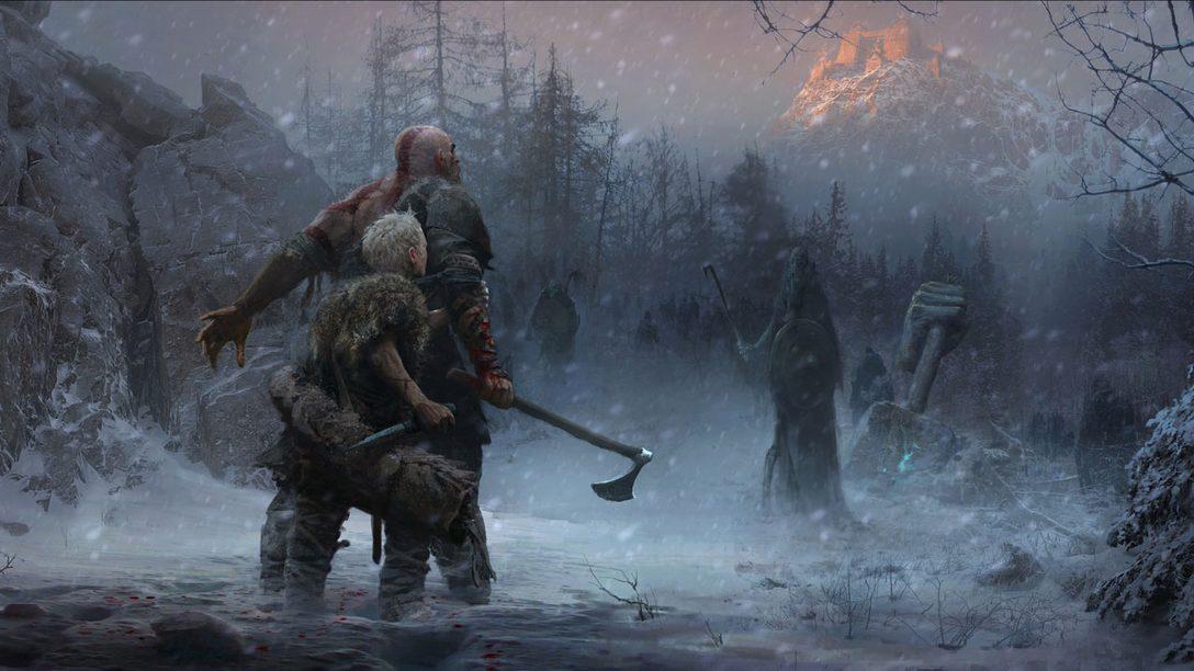 God of War: Como Santa Monica Studio Definiu a Direção Nórdica do Jogo