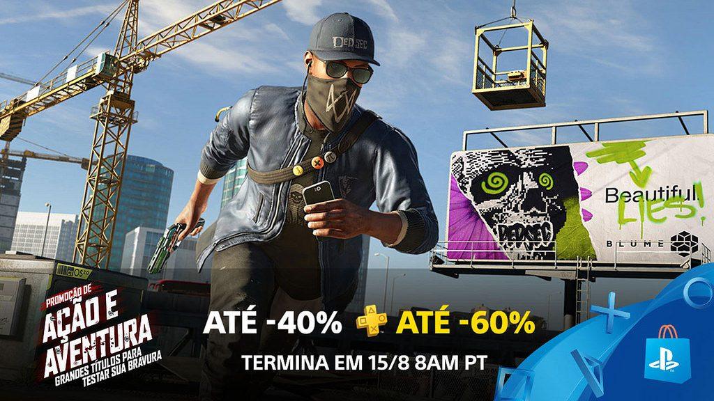 A Promoção de Ação e Aventura Traz Jogos Explosivos com até 60% de Desconto